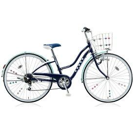 ブリヂストン BRIDGESTONE 26型 子供用自転車 ワイルドベリー(スターネイビー/6段変速) WB666【組立商品につき返品不可】 【代金引換配送不可】