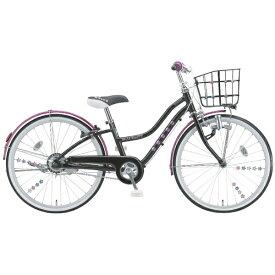 ブリヂストン BRIDGESTONE 22型 子供用自転車 ワイルドベリー(ブラックパンサー/シングルシフト) WB206【組立商品につき返品不可】 【代金引換配送不可】