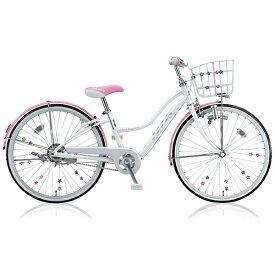 ブリヂストン BRIDGESTONE 20型 子供用自転車 ワイルドベリー(パールシュガー/シングルシフト) WB006【組立商品につき返品不可】 【代金引換配送不可】