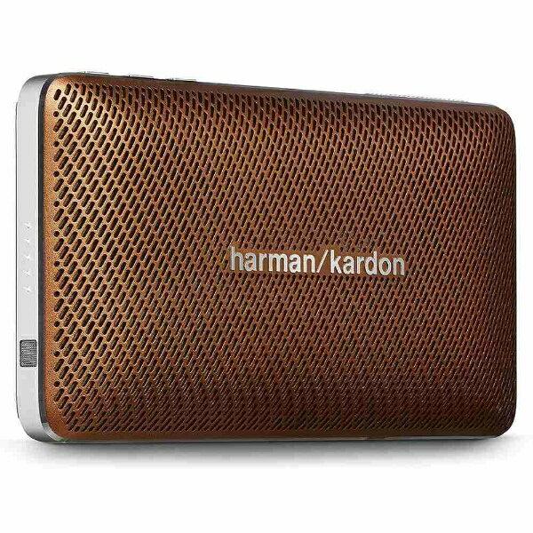 【送料無料】 HARMAN/KARDON ブルートゥーススピーカー(ブラウン) HK ESQUIRE MINI BRN[HKESQUIREMINIBRN]
