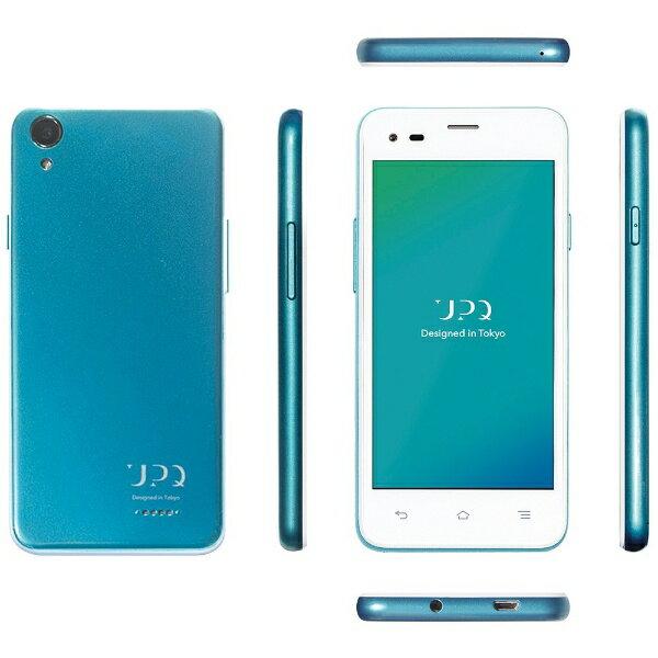 UPQ UPQ Phone A01X ホワイトBG「QASP001WBX」 Android 5.1・4.5型・メモリ/ストレージ:1GB/16GB microSIMx2 SIMフリースマートフォン[QASP001WBX]