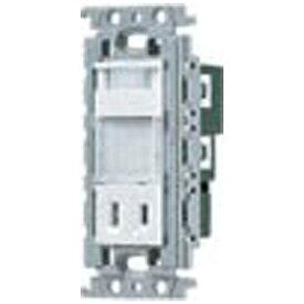 パナソニック Panasonic コスモシリーズワイド21 埋込熱線センサ付ナイトライト(LED:電球色)(明るさセンサ・コンセント付) WTF4065W ホワイト[WTF4065W] panasonic
