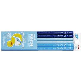 三菱鉛筆 MITSUBISHI PENCIL [鉛筆] ユニパレット グリッパーえんぴつ(ノンスリップ加工)  青 (硬度:2B) 1ダース K69082B