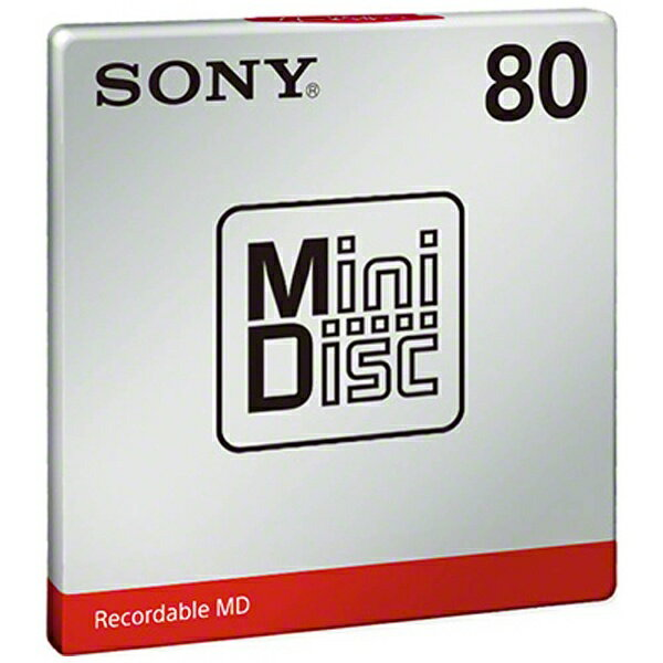 ソニー ミニディスク(80分・1枚パック)MDW80T