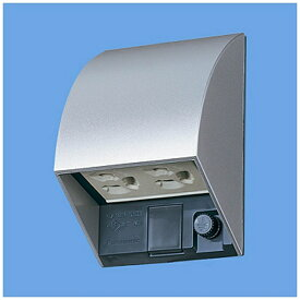 パナソニック Panasonic スマート接地防水ダブルコンセント (抜け止め式・アースターミナル付/露出・埋込両用) WK4602SK ホワイトシルバー[WK4602SK] panasonic