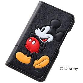 レイアウト rayout AQUOS Compact SH-02H / Disney Mobile DM-01H / AQUOS Xx2 mini用 手帳型ケース ポップアップ ブックレザーケース 合皮 ディズニー・ミッキー RT-DAQH2J/MK