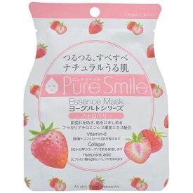 サンスマイル SunSmile Pure Smile(ピュアスマイル) エッセンスマスク ヨーグルトシリーズ ストロベリー 1回分 23ml