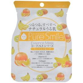 サンスマイル SunSmile Pure Smile(ピュアスマイル) エッセンスマスク ヨーグルトシリーズ ミックスフルーツ 1回分 23ml