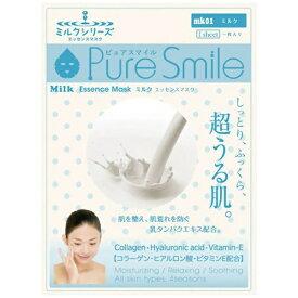 サンスマイル SunSmile Pure Smile(ピュアスマイル) エッセンスマスク ミルク 1枚入