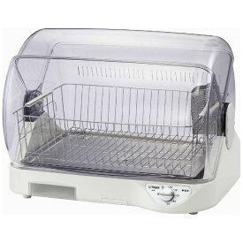 タイガー TIGER 食器乾燥機 サラピッカ ホワイト DHG-S400-W [6人用][DHGS400W]