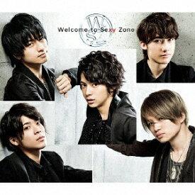 ポニーキャニオン PONY CANYON Sexy Zone/Welcome to Sexy Zone 初回生産限定デラックス盤 【CD】