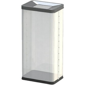 ぶんぶく Bunbuku 中身の見えるゴミ箱 角型屑入 透明 OSMP01 [28L]