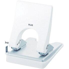 プラス PLUS 2穴パンチ フォース1/2 M 白 PU830AWH