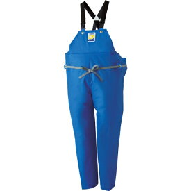 ロゴス LOGOS マリンエクセル 胸当て付きズボン膝当て付きサスペンダー式 ブルー 3L 12063150