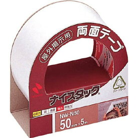 ニチバン NICHIBAN 両面テープナイスタック屋外掲示用NW-N50×5 NWN50