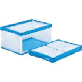 三甲 サンコー オリコンラックP75B-D(長側扉なし) ブルー/ホワイト SKORP75BDBLWH