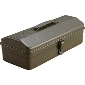 トラスコ中山 山型工具箱 359×150×124 OD色 Y350OD