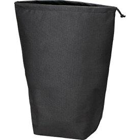 トラスコ中山 不織布巾着袋10枚入 黒 500×420×220MM TNFD10L