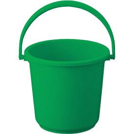 トラスコ中山 PPカラーバケツ 10L 緑 TPPB10GN