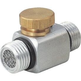 トラスコ中山 空気流量調節器 G1/4XG1/4 オネジ TAR2N