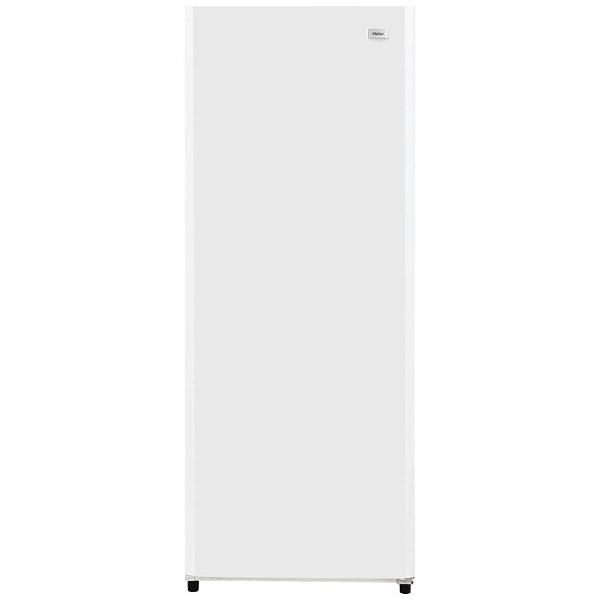 【標準設置費込み】 ハイアール 前開き式冷凍庫 「Haier Live Series」(132L) JF-NUF132G-W ホワイト[JFNUF132G]