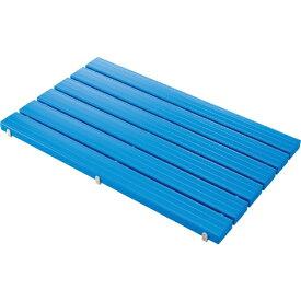 山崎産業 YSカラースノコセフティ抗菌C型(キャップ付)ブルー F1153CBL