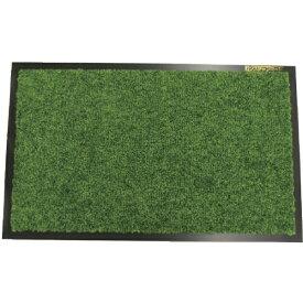 山崎産業 (屋内用マット)ロンステップマット #15 R8 緑 F115