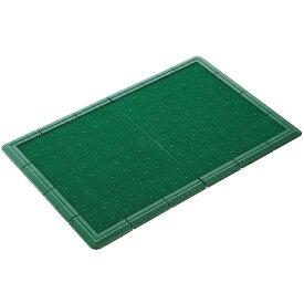 山崎産業 (屋外用マット)エバックスターマット #6 緑 F96