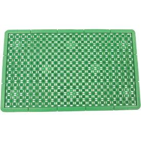 山崎産業 泥っぷマット(♯3) 緑 F1853G