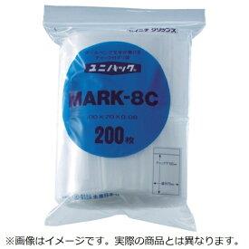 生産日本社 SEISANNIPPONSHA 「ユニパック」 MARK-8I 280×200×0.08 100枚入 MARK8I《※画像はイメージです。実際の商品とは異なります》