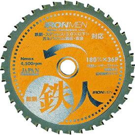 チップソージャパン TIP SAW JAPAN 鉄鋼鉄人 TT180