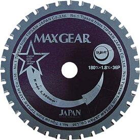 チップソージャパン TIP SAW JAPAN マックスギア鉄鋼用125 MG125《※画像はイメージです。実際の商品とは異なります》