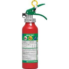 日本ドライケミカル Nippon Dry-Chemical ABC粉末消火器本体アルミ製3型 PAN3A1