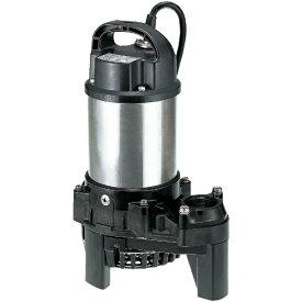 鶴見製作所 Tsurumi Manufacturing 三相200V 樹脂製汚水用水中ポンプ 50HZ 40PSF2.4