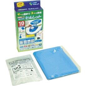 平井工具 非常用トイレ セルレット 10回分セット S10F