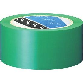 寺岡製作所 Teraoka Seisakusho ラインテープ NO.340 緑 50mmX20M 340GR50X20
