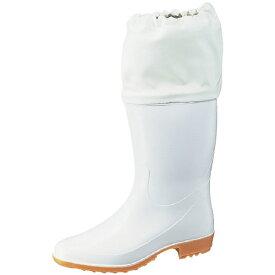 アキレス Achilles ホワイトカバー付衛生長靴 白 24.0cm TSM9550W24.0