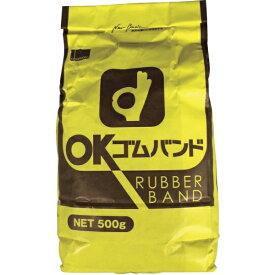 オカモト okamoto ゴムバンド 500G袋入 5001611 (1袋3400本)