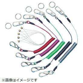 スーパーツール SUPER TOOL 安全ロープ(ステンレスワイ芯)ダイレクトキャッチフック付バイオレット AR430DV《※画像はイメージです。実際の商品とは異なります》