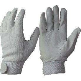 おたふく手袋 OTAFUKU GLOVE 豚革甲メリヤスマジック付 紺 L R29NL