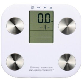 オーム電機 OHM ELECTRIC 体組成計 ホワイト HB-K90-W[HBK90W]