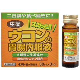 【第3類医薬品】 イノターゼ内服液G(30mL×3本)〔胃腸薬〕【wtmedi】伊丹製薬
