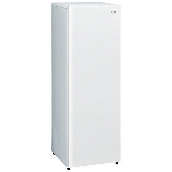【標準設置費込み】 ハイアール 前開き式冷凍庫 「Haier Live Series」(161L) JF-NUF161G-W ホワイト[JFNUF161G]