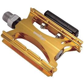 wellgo ウェルゴ アルミCNCペダル wellgo LU-C16(ゴールド)