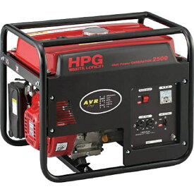 ワキタ WAKITA エンジン発電機 HPG-2500 60Hz HPG250060《※画像はイメージです。実際の商品とは異なります》 【メーカー直送・代金引換不可・時間指定・返品不可】