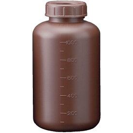 サンプラテック SANPLATEC フロロバリア遮光広口瓶 1L 26231
