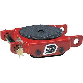 ダイキ Daiki スピードローラー低床型ウレタン車輪2ton DUW2P《※画像はイメージです。実際の商品とは異なります》