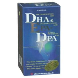 ミナミヘルシーフーズ minami DHA&EPA+DPA 120粒【wtcool】