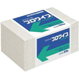 大王製紙 Daio Paper エリエールプロワイプソフトタオルホワイト帯どめLサイズ50枚 703146