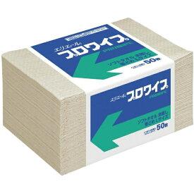 大王製紙 Daio Paper エリエールプロワイプソフトタオル未晒帯どめLサイズ50枚 703147